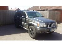 2004 JEEP GRAND CHEROKEE CRD GREY 4x4