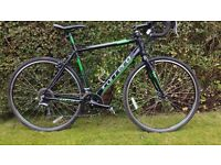 Carrera cyclo cross bike hardly used good on and off road