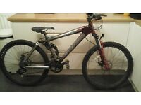 Carerra banshee mountain bike