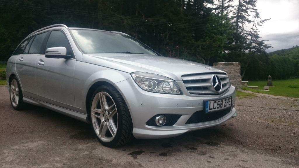 2009 mercedes c220 cdi amg estate auto diesel silver in inverness  highland gumtree Mercedes-Benz C220 CDI AMG Mercedes-Benz C220 CDI Used Pricing