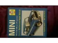 Haynes manual mini mint condition