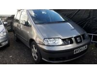Seat Alhambra Diesl 7 Seats, Sharan and Galaxy also available