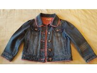 Girl's Bluezoo Denim Jacket - VGC