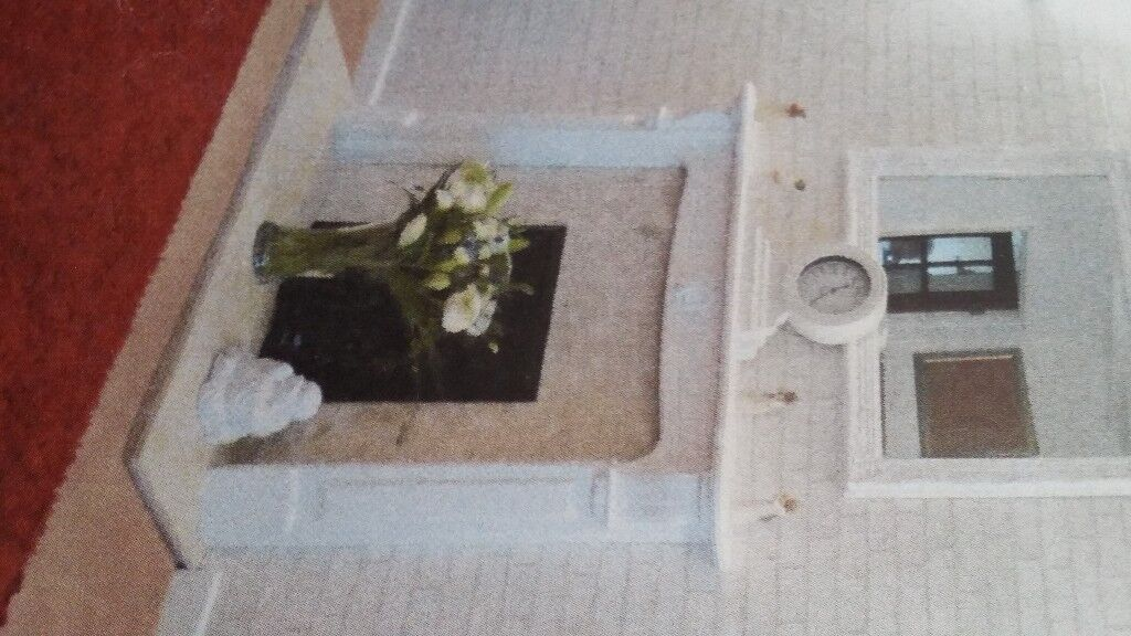 Fire Surround with Marble inset