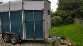 Ifor Williams HB505R Horse trailer with CCTV and New Tyres