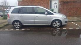 Vauxhall zafira 2012 PCO