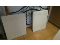 Kitchen Doors and Drawers Cream Howden Shaker Style