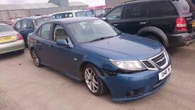 2008 SAAB 9-3 VECTOR SPORT, 1.9 TID, BREAKING FOR PARTS ONLY, POSTAGE AVAILABLE NATIONWIDE