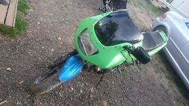 Kawasaki 500, Green, 1991, Nice Bike