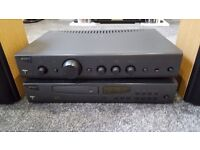 Arcam Alpha 7 Amp.Arcram Alpha 7 cd player Mission Speakers