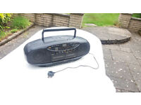 JVC portable radio/cd/cassette player