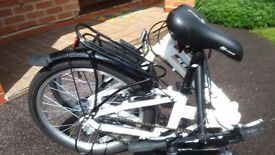 New Foldable Carrera Bike.