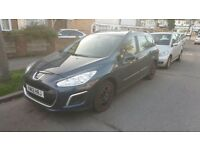 2012 PEUGEOT 308 SW 1.6 AUTOMATIC DIESEL 1 YEAR MOT ONLY 52000 MILES