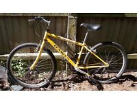 "Retro Dawes small adult mountain bike Bargain 26"" wheels road tyres"