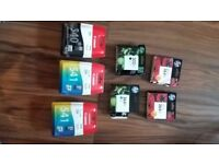 Ink cartridges Canon and HP