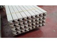 🌟 Manufactured On Site Excellent Quality Concrete Fence Posts / Gravel Boards