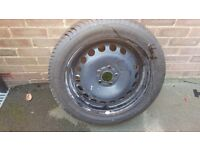 "Ford spare wheel for 18"" alloys 235 50 17"