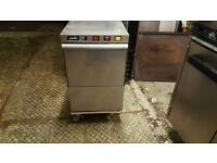 Commercial catering glass washer almost new
