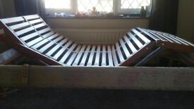 Orthopaedic bed with mattress