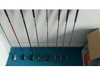 callaway golf clubs, drivers& bag