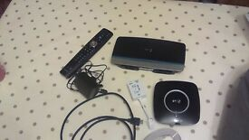 BT Home Hub 5 used but good condition & a BT youview box