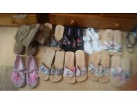 Huge range of shoes snd sandals. UNWORN