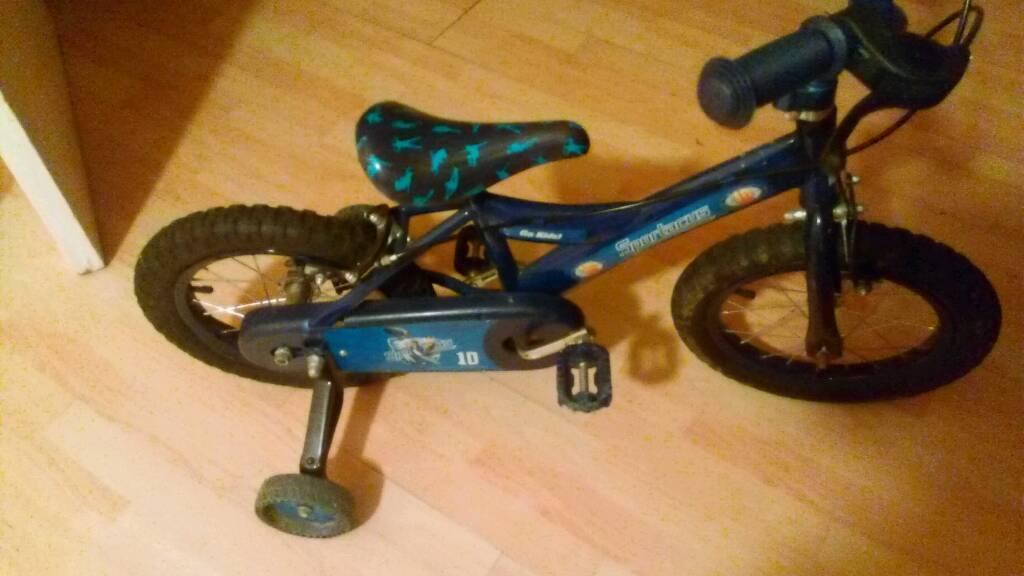 Boys bike 14 inch