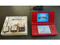 Nintendo dsi red 4 games