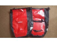 **SOLD** Ortlieb Uni Back Roller City Rear Bicycle Bag (Pair) **SOLD**