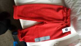 Baby boy red GAP trousers brand new 6to12 months
