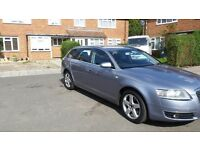 2006 AUDI A6 SE QUATTRO 2.7 TDI AUTOMATIC 7 MONTHS MOT AND IN EXCELLENT CONDITION BRILLIANTLY