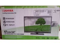 Toshiba LED Backlight LCD TV - 24D153DB Serie, with DVD player