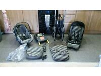 Mama's and papas pushchair with all accessories