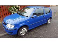 BARGAIN! Volkswagen Polo 1.0 **MOT SEPTEMBER**2 Keys/Great Driver**50MPG/Cheap tax ony £595