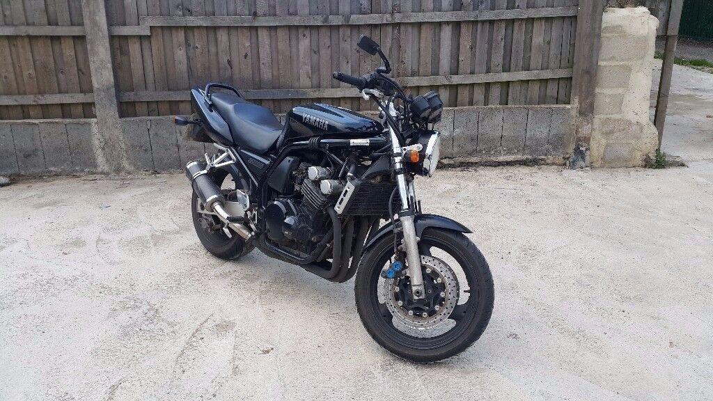yamaha fazer 600 1999 t reg not bandit hornet streetfighter cheap bike no px in bradford west. Black Bedroom Furniture Sets. Home Design Ideas