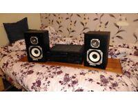 Yamaha Amp/Marantz Speakers