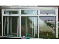 Upvc large window