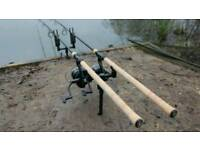 fishing 10ft carp set up exchange