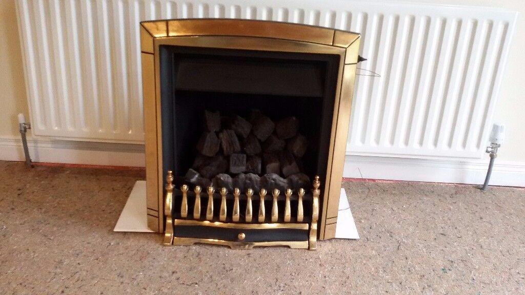 Gas Fire, Valor Coal Flame. Model No. BR627