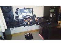 Logitech G27 Wheel Controller PC PS3/4 Good condition