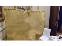 Gold sequin backdrop for wedding photobooth