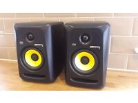 KRK Rokit 5 G3 Active Studio Monitors Pair with boxes