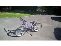 Childs bike (8 to 12), Dawes 20 inch , 6 gears,aluminium frame, good condition (few scatches), cash