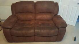 3 seater and 2 seater sofas.