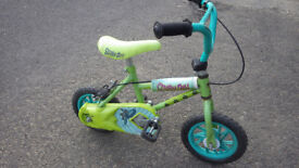 Scooby Doo Bicycle, 10 inch wheels, suit 3 to 5 year old, ideal follow on from Balance Bike