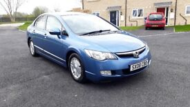 2008 Honda Civic Hybrid Auto / Top Spec / 1 Year MOT