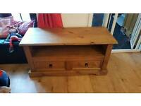 Rustic Pine TV Cabinet