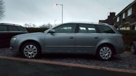 Audi a4 estate 2005 2.0tdi SE 5 door Metallic grey