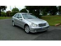 MERCEDED C200 ELEGANCE AUTO FULL MOT LOW MILEAGE CAR