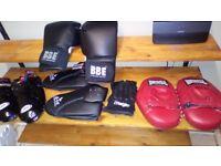 kick / boxing set